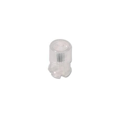 Cabochon clips led 3mm transparent