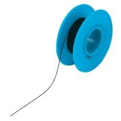 Bobine 50m fil à wrapper AWG30 0,05mm² noir