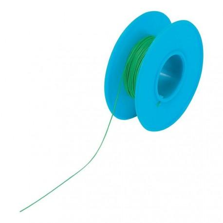 Bobine 50m fil à wrapper AWG30 0,05mm² vert