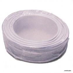 Câble de cordon silicone 0,75mm² 12Amp. blanc