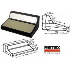 Coffret pupitre Retex 400x230x145mm