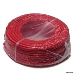 Câble de cordon silicone 1mm² 20Amp. rouge