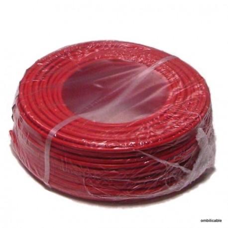 Fil de cablage souple 2,5mm² rouge