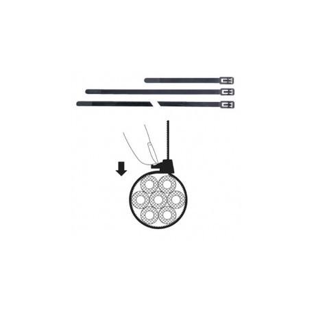 Colliers de fixation 7,6x200mm détachable