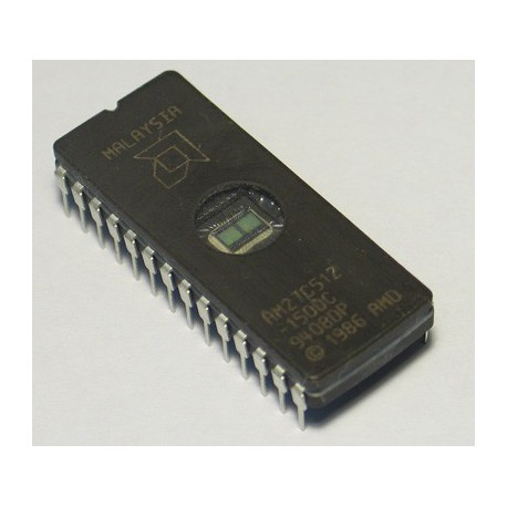 Eprom 27C512-20 68kx8 dil28