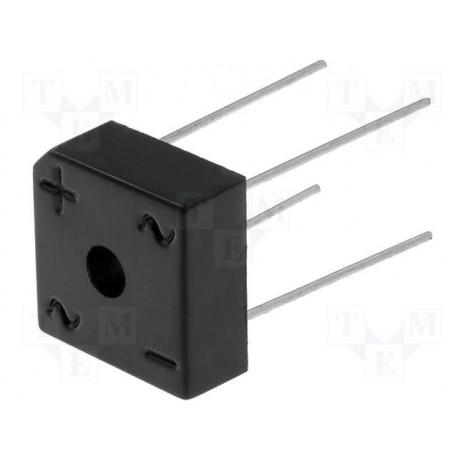Pont de diodes carré 200V 6Amp.