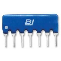 Réseau de diodes SIL8 isolées 100mA 80V
