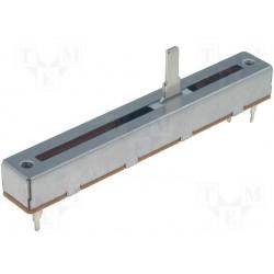 Potentiomètre rectiligne 88x12mm linéaire 1Kohms axe 4mm