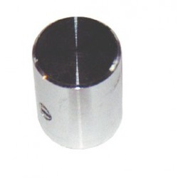 Bouton aluminium à vis 12x15mm