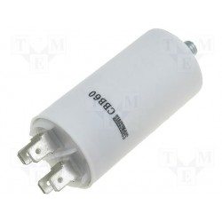 Condensateur de démarrage à cosses 25µF 450V