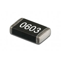 Condensateur CMS 0603 NPO 5% 100pF 63V
