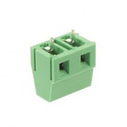 Bornier à cage 2pts 1,5mm² au pas de 3,5mm