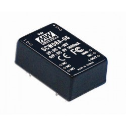 Convertisseur DC/DC Mean-Well 8W 36/72V : +12V 670mA