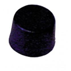 Bouton potentiomètre 20mm noir