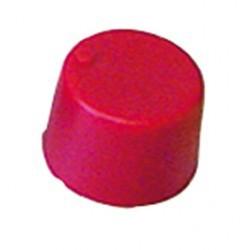 Bouton potentiomètre 20mm rouge