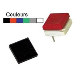 Touche C.I. type MDP cabochon noir
