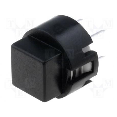 Touche type D6 carré noire C&K