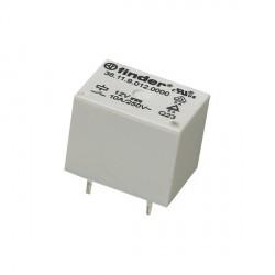 Relais Finder type 3611 1R/T 12Vdc 400ohms 10Amp.