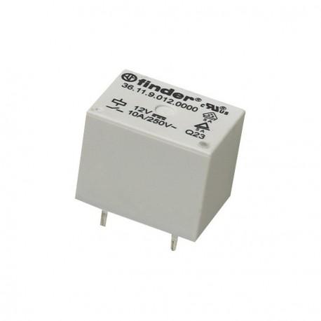 Relais Finder type 3611 1R/T 9Vdc 225ohms 10Amp.