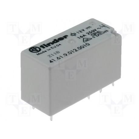 Relais type Finder 4161 1R/T 16Amp. 230Vac