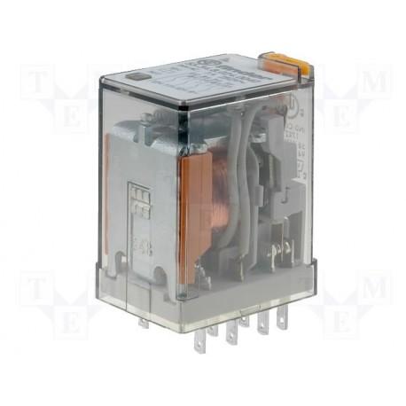 Relais type Finder 55.34 4R/T 230Vac