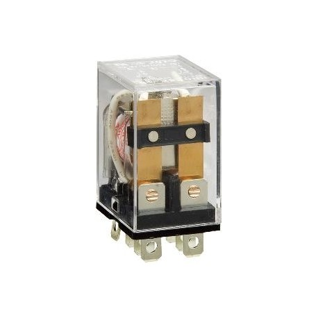Relais type Omron LY2 2R/T 10Amp. 220 / 240Vac