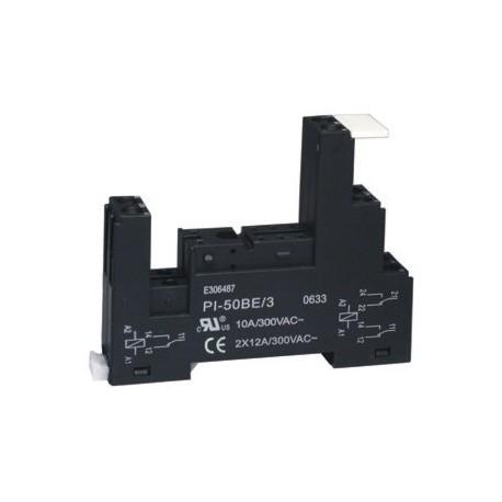 Support de relais pour rail din série 40/41/44