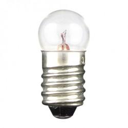 Ampoule E10 11x23mm 2,5V 200mA