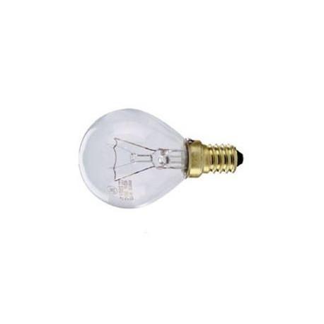 Ampoule claire sphérique E14 230V 40W 300°