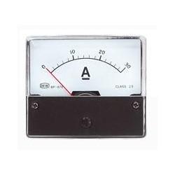 Galvanomètre ampèremètre 0 à 30 Ampères 60x47mm