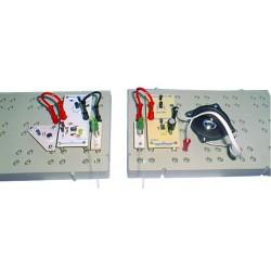 Ensemble modules transmission fibre optique