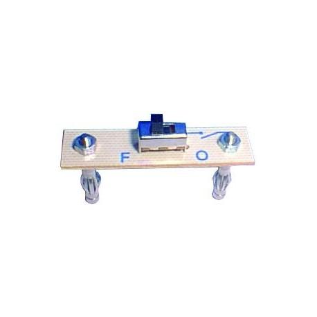 Module 2 plots interrupteur unipolaire au pas de 38mm