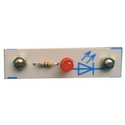 Module 2 plots diode led 5mm rouge au pas de 38mm