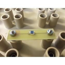 Module 2 plots au pas de 38mm photodiode BPW34
