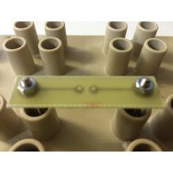Module 2 plots au pas de 38mm porte composant nu