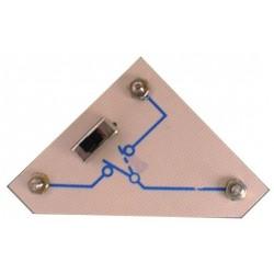 Module 3 plots au pas de 38mm inverseur unipolaire
