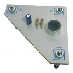 Module microphone electret pour chaîne son