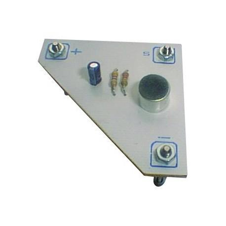 Module microphone electret pour chaine son