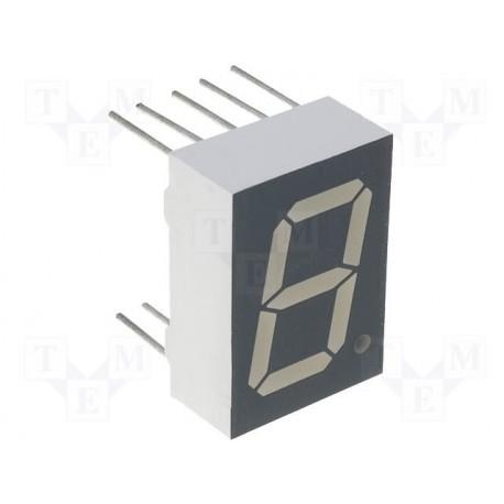Afficheur 7 segments à led 13,2mm rouge K/C