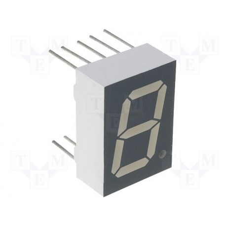 Afficheur 7 segments à led 13,2mm vert K/C