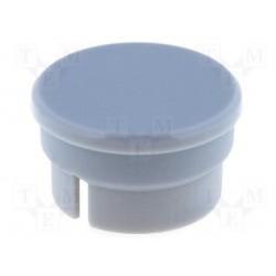 Capuchon gris pour bouton 16mm pour bouton KN156x