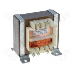Transformateur 230Vac - 26VA 2x15Vac à étrier