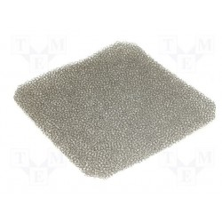 Filtre mousse 2,5mm pour ventilateur 92x92mm