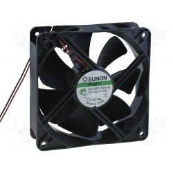 Ventilateur 12V 120x120x38mm 234,4m³/h 48dBA