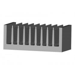 Dissipateur PADA8115 100x40x1000mm