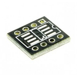Adaptateur à cabler soic8 / dil8 avec connecteurs