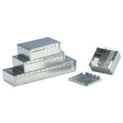 Coffret acier étamé double 122x68x27mm
