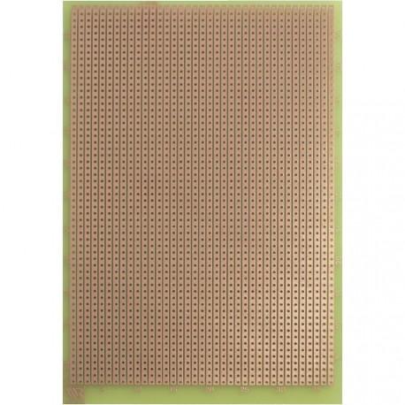 Plaque d'essais époxy 100x160mm à bandes