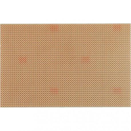 Plaque d'essais époxy 100x160mm à pastilles