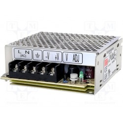 Alimentation Mean-Well série RS 51W - 88/264Vac - 15Vdc - 3,4Amp.